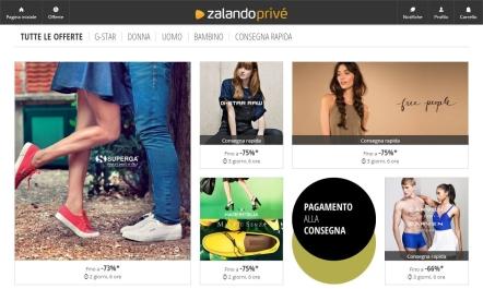 huge discount a68d4 986c1 Zalando Privé: la mia esperienza | La Rockeuse